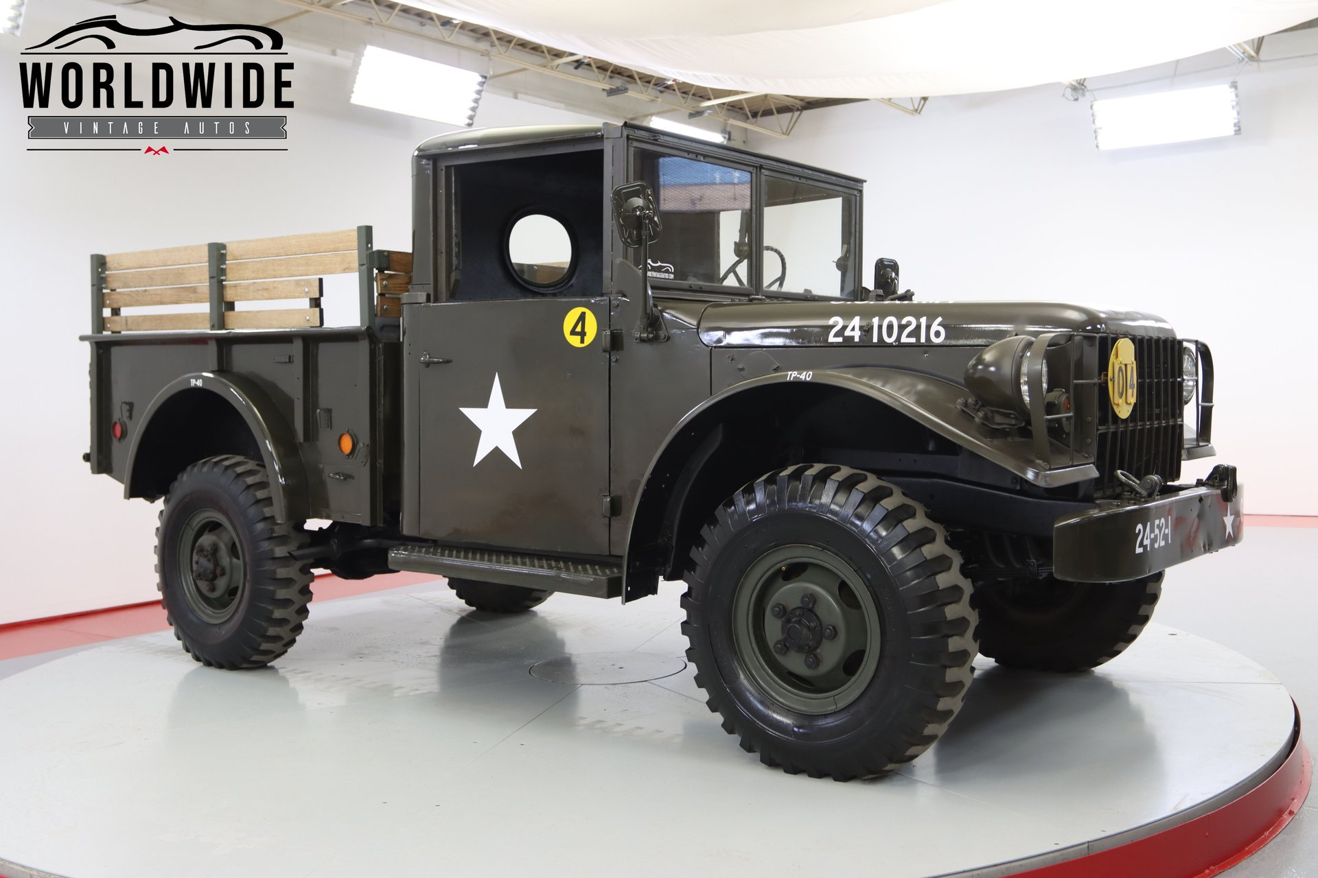 1952 Dodge M37 Power Wagon