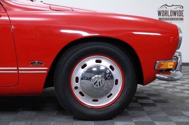 1970 Volkswagon Karman Ghia