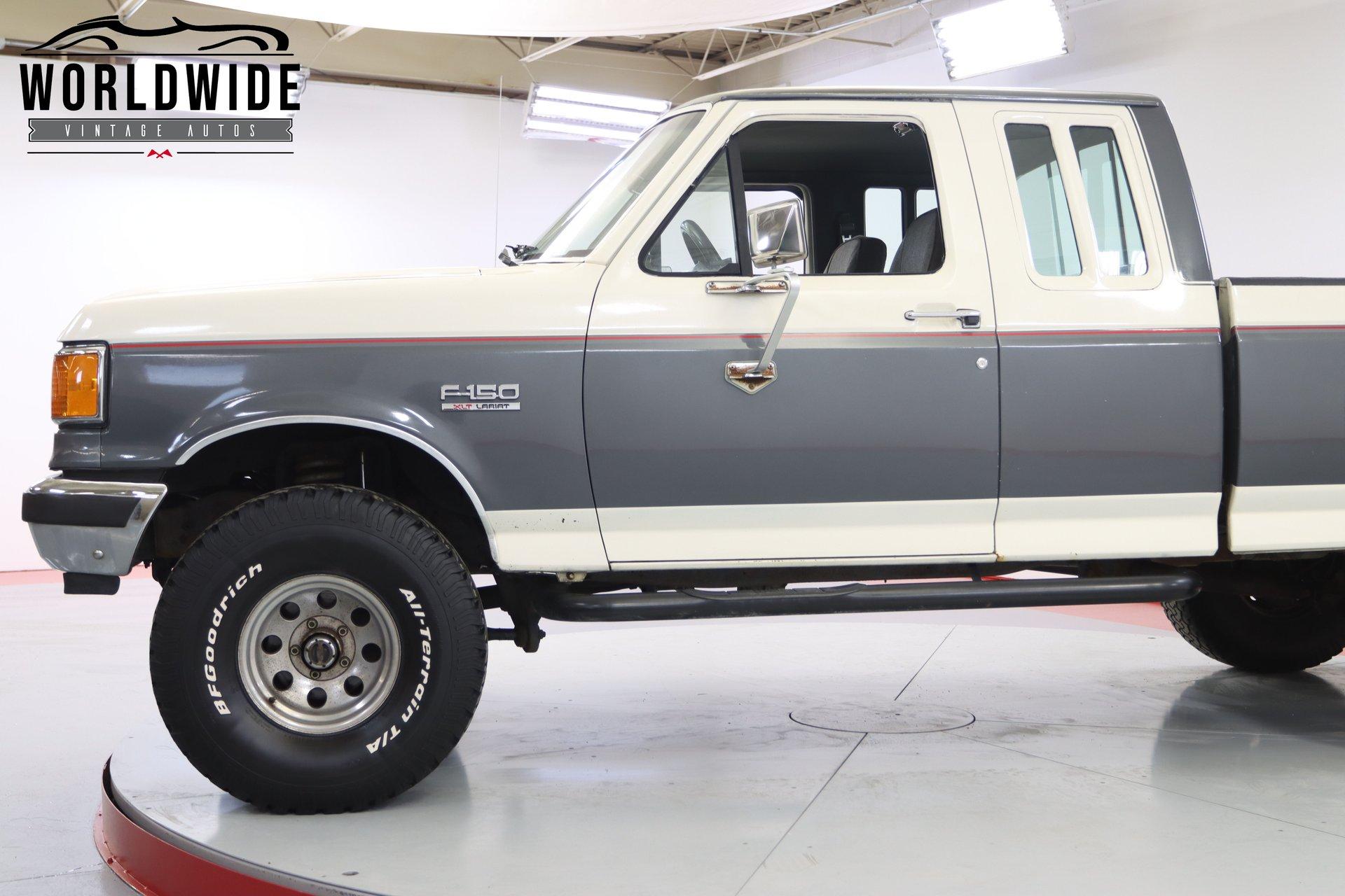 1989 Ford F-150 Lariat Ext. Cab