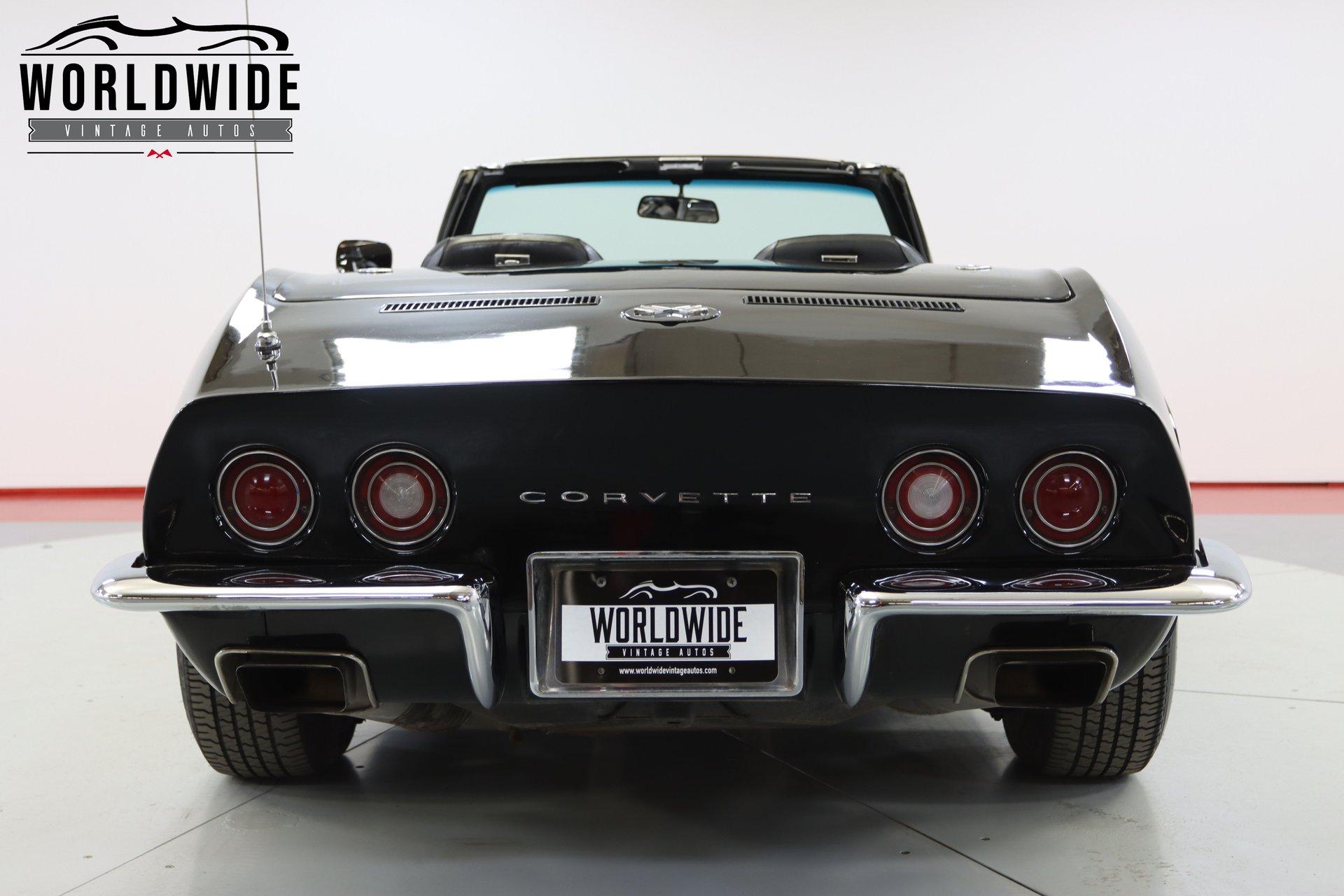 1972 Chevrolet Corvette Convertible