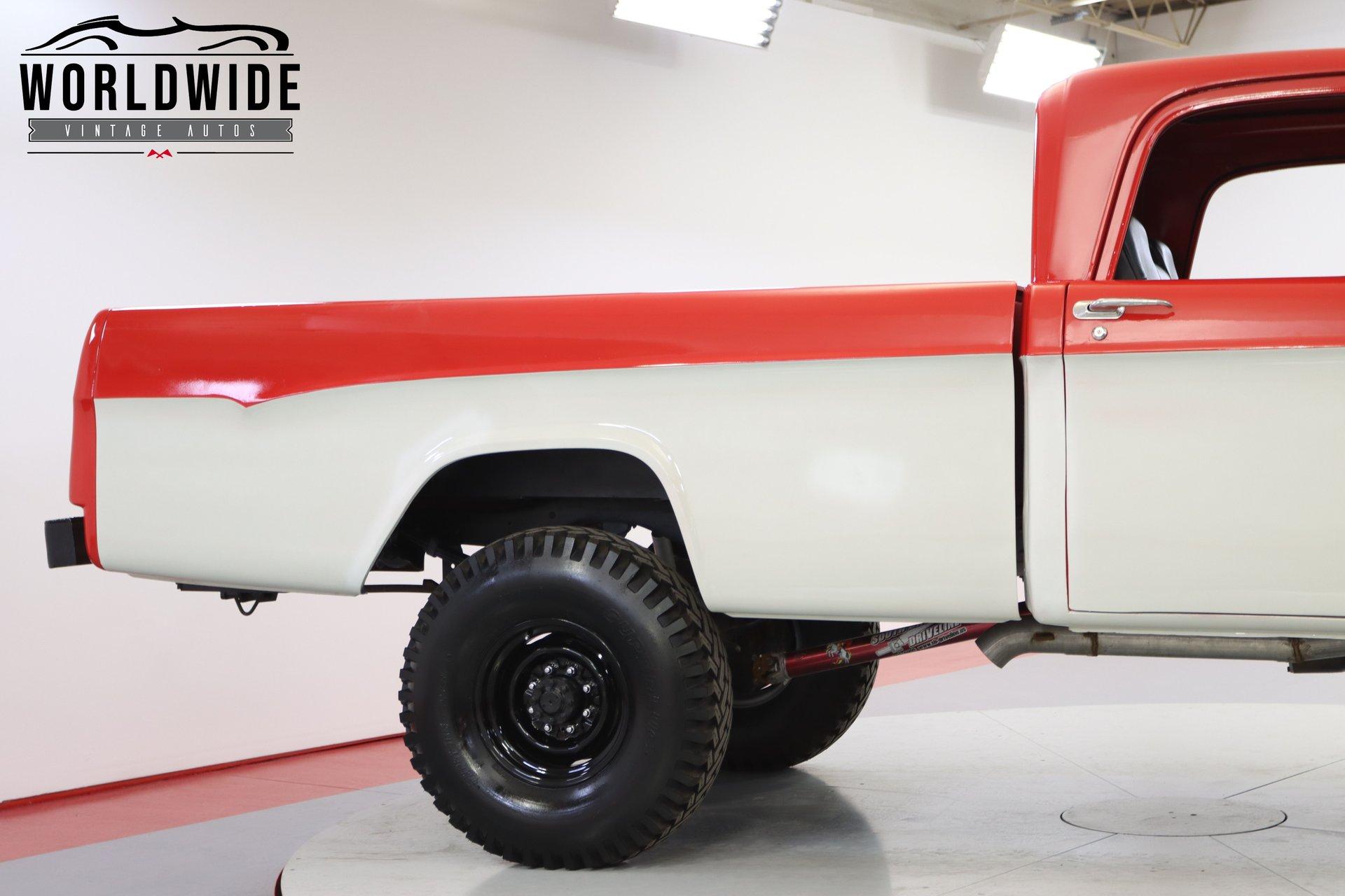 1965 Dodge W200 Power Wagon