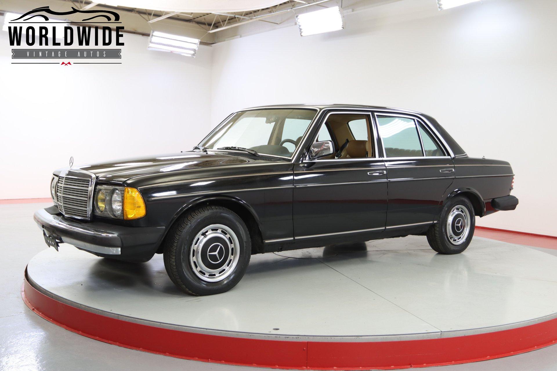 1982 mercedes benz 240d