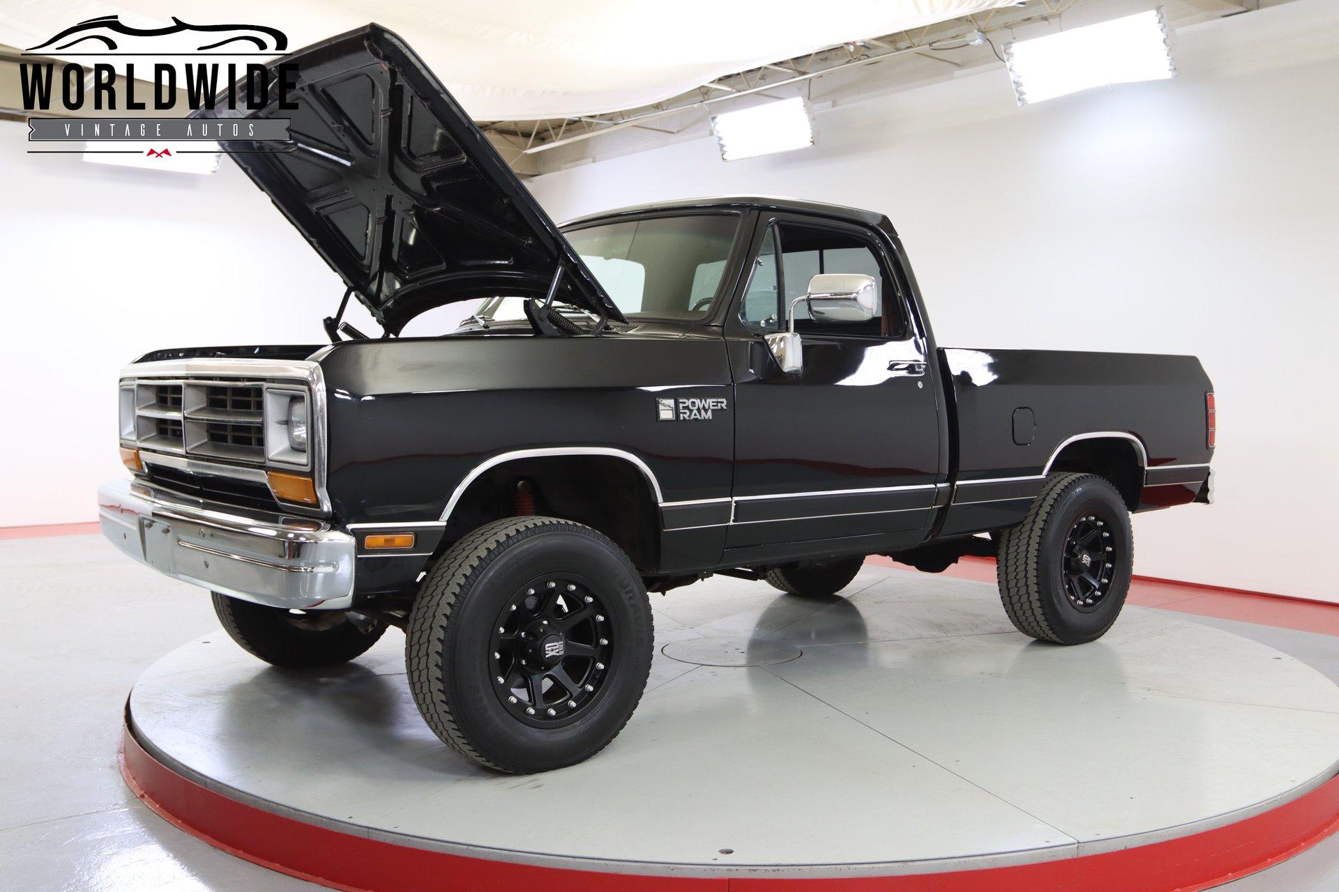1989 Dodge W100