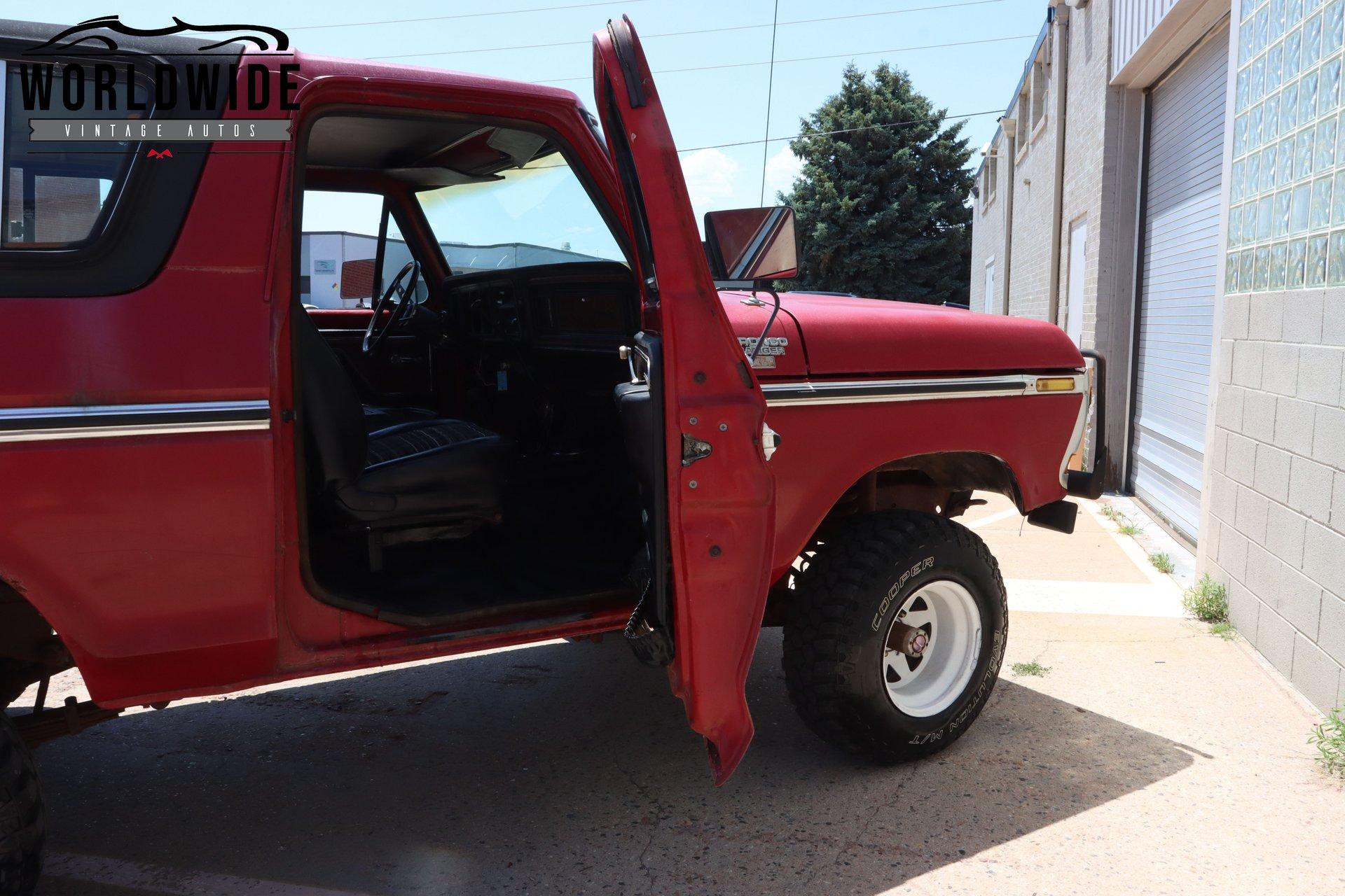 1979 Ford Bronco XLT Ranger