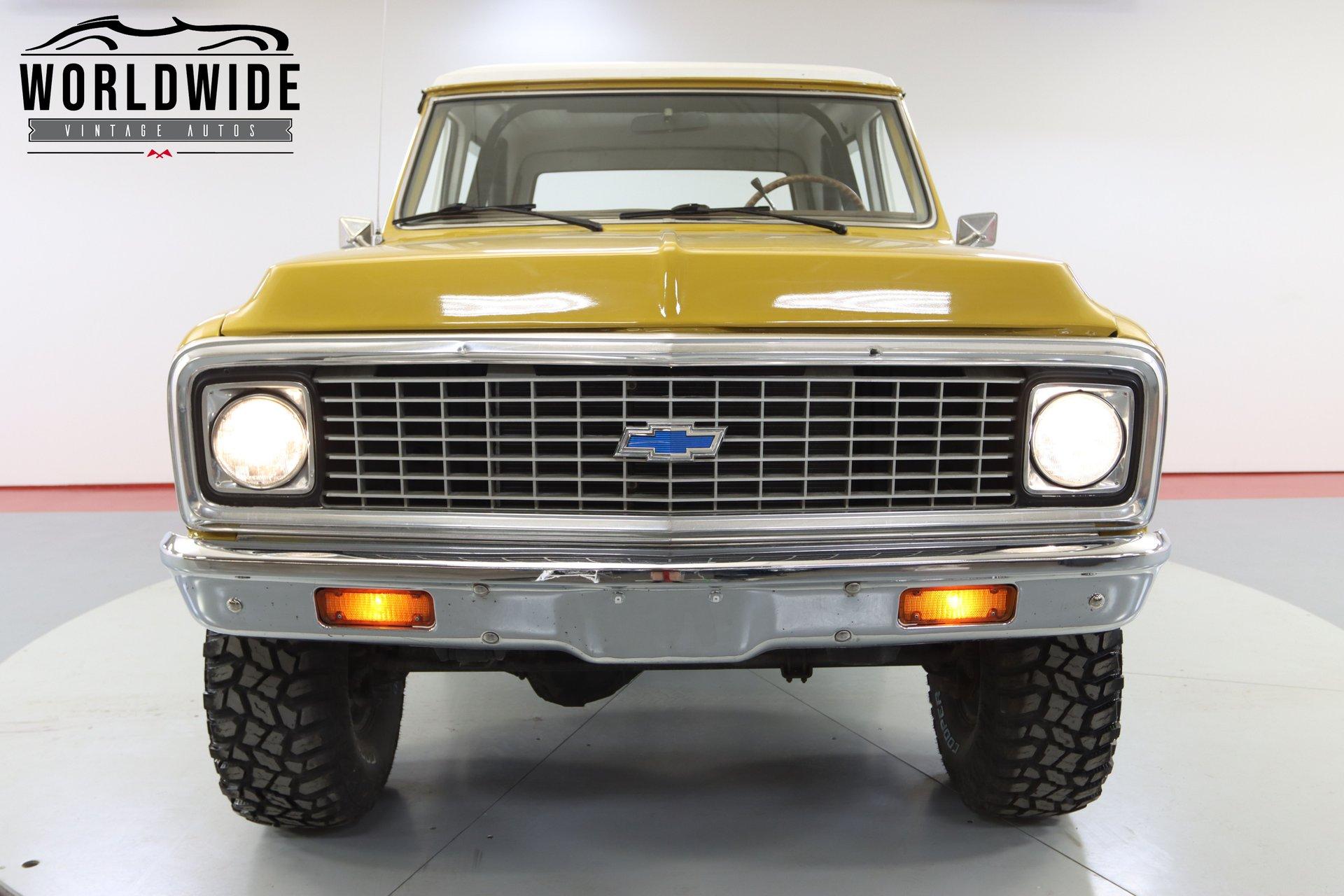 1972 Chevrolet K/5 Blazer Cst