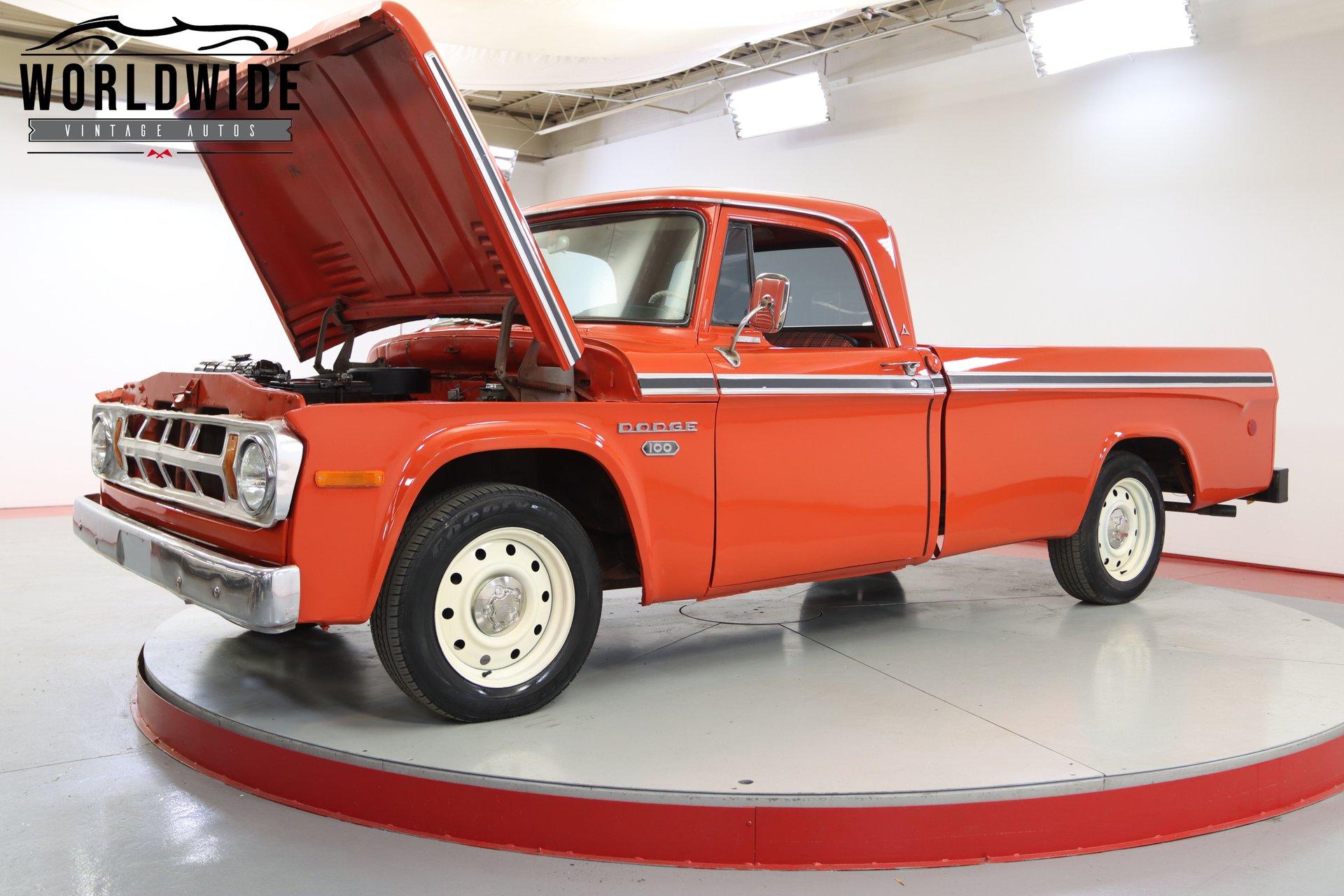 1968 Dodge D100