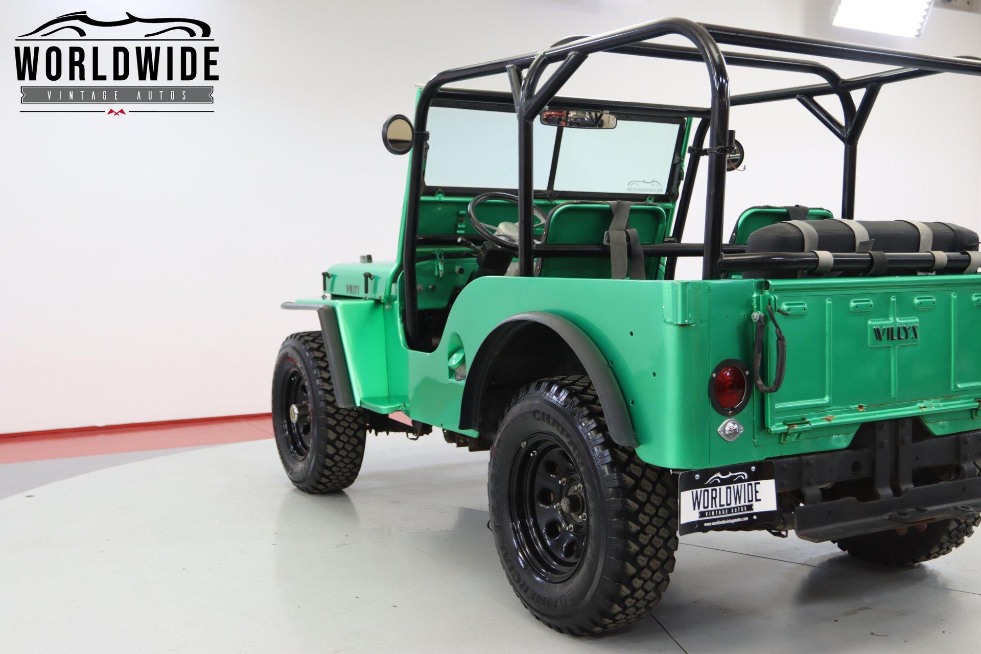 1948 Jeep Willys Cj 2A