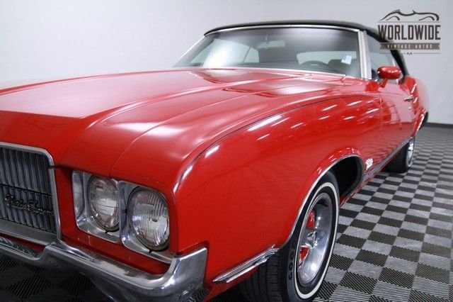 1971 Oldsmobile Cutlass Convertible