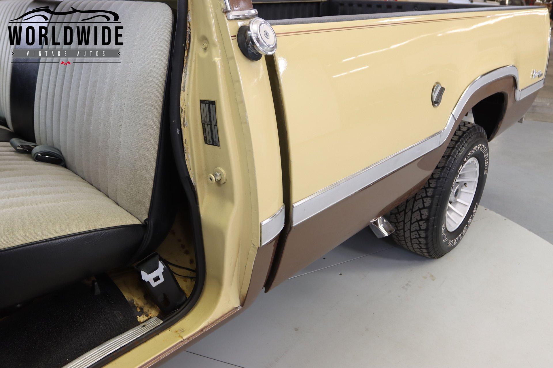 1974 Dodge W100