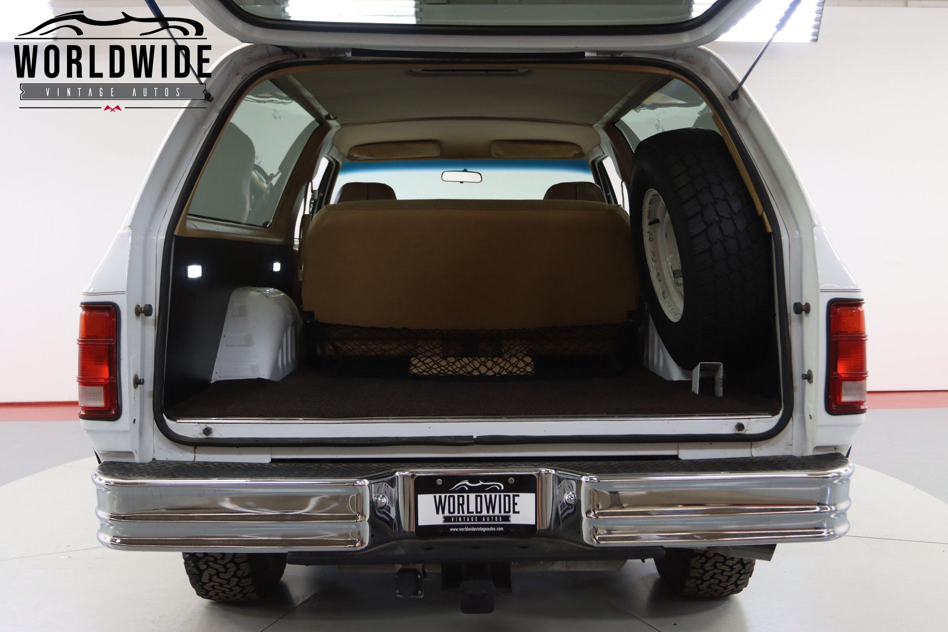 1989 Dodge Ram Charger Prospector