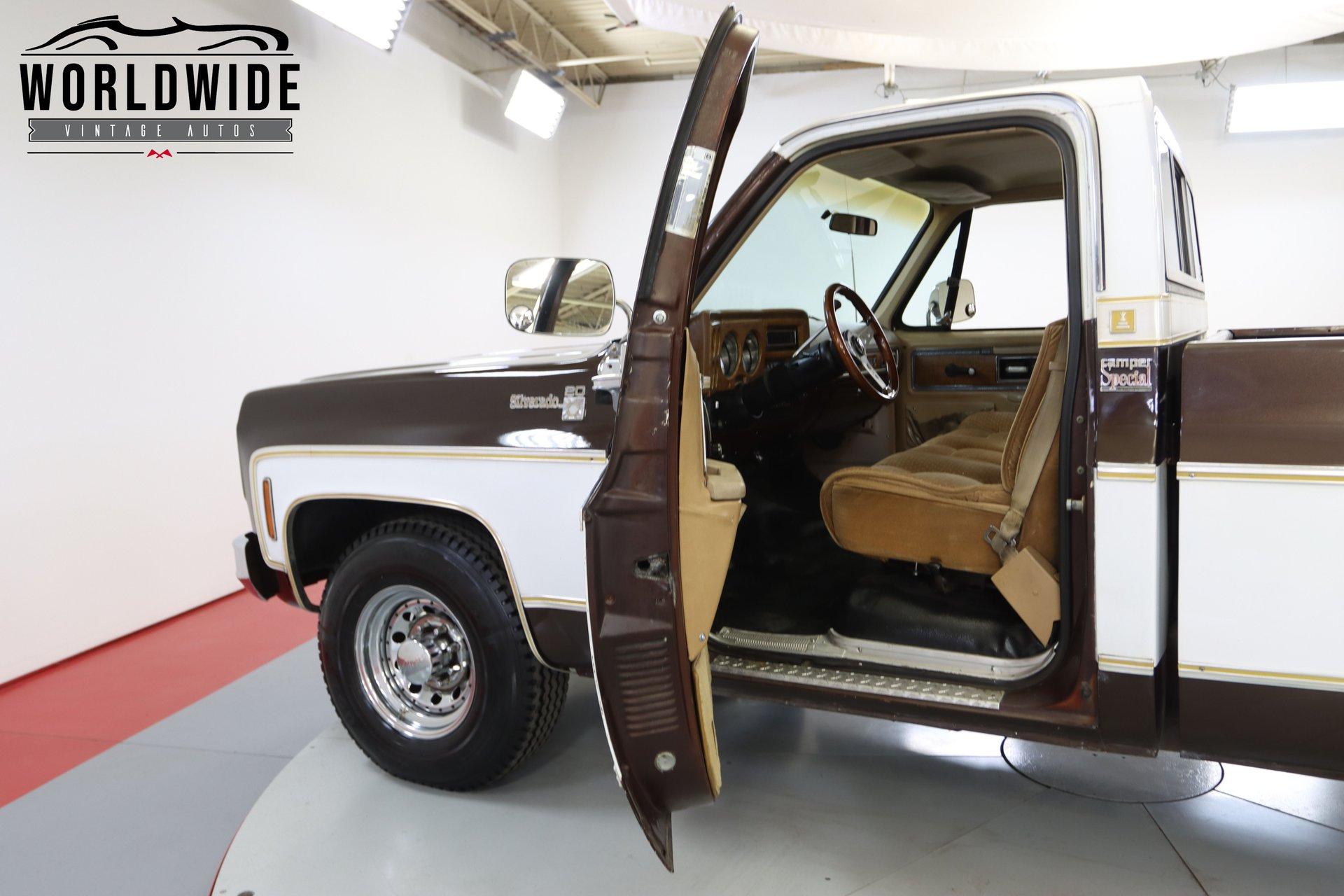 1977 Chevrolet C20 CAMPER SPECIAL