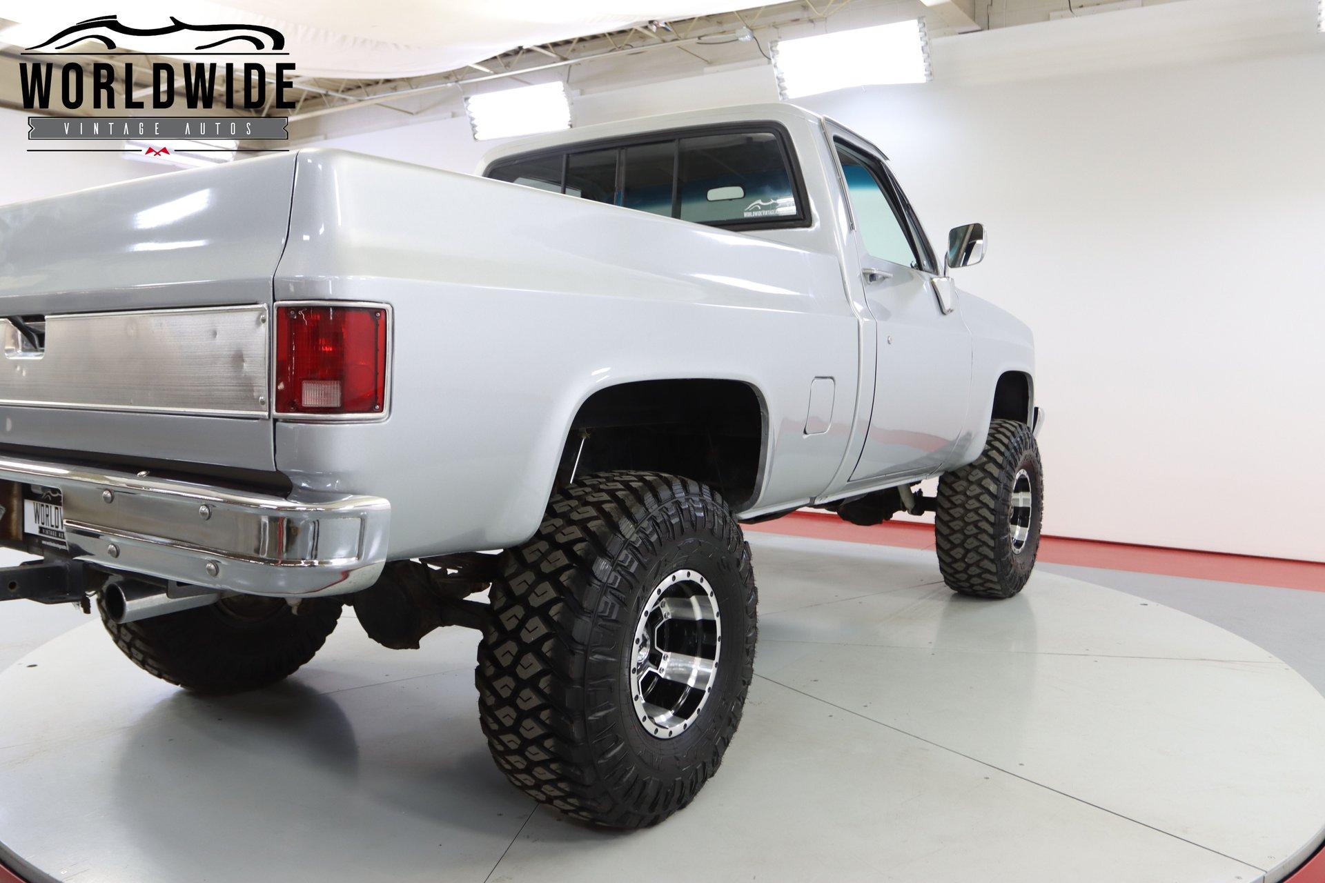 1982 Chevrolet K10