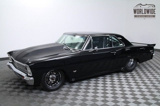 1966 Chevrolet Nova 1100 Hp Twin Turbo
