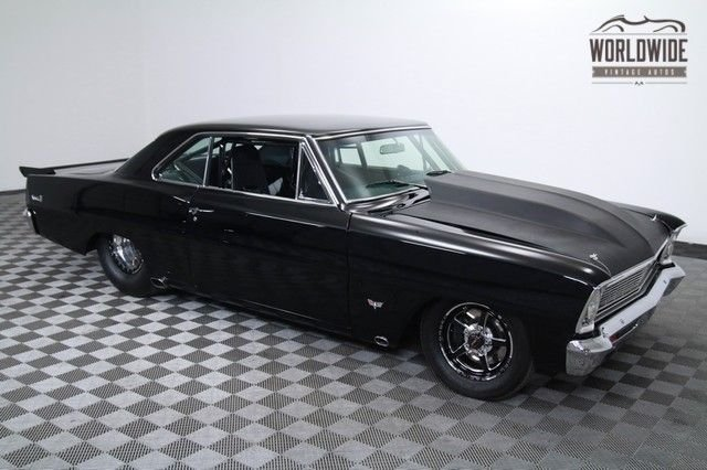 1966 Chevrolet Nova 1100 Hp Twin Turbo