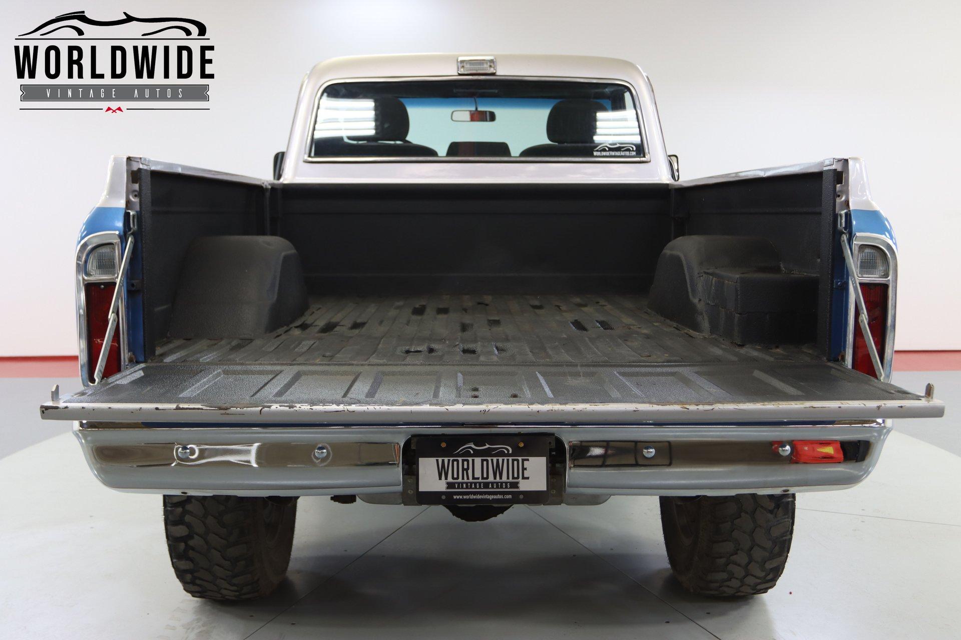 1969 GMC Sierra Custom