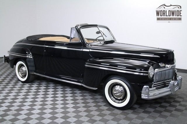 1948 Mercury Eight (76M) Convertible