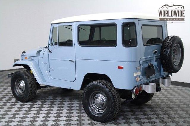 1971 Toyota Fj40 Land Cruiser