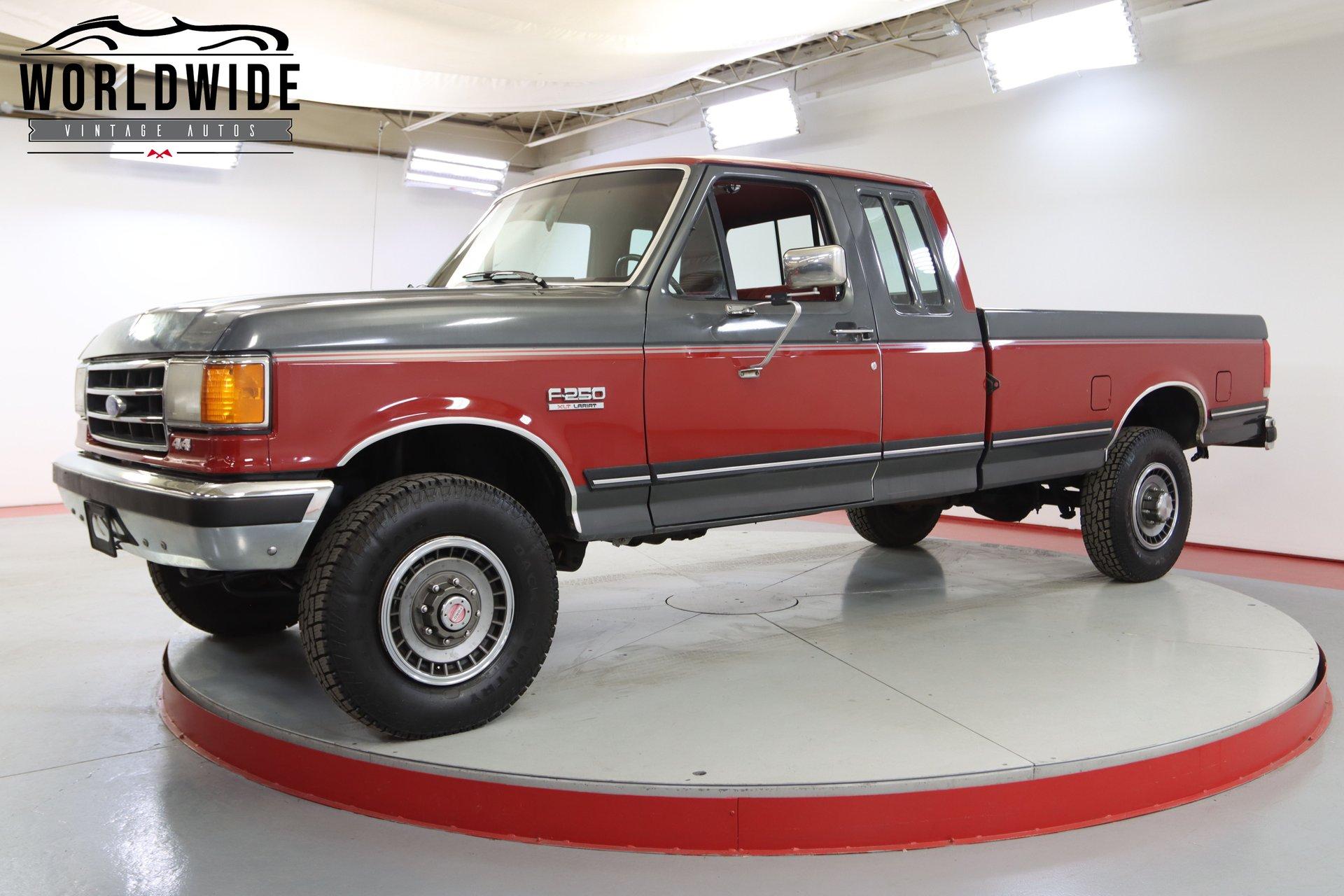 1990 ford f 250 xlt
