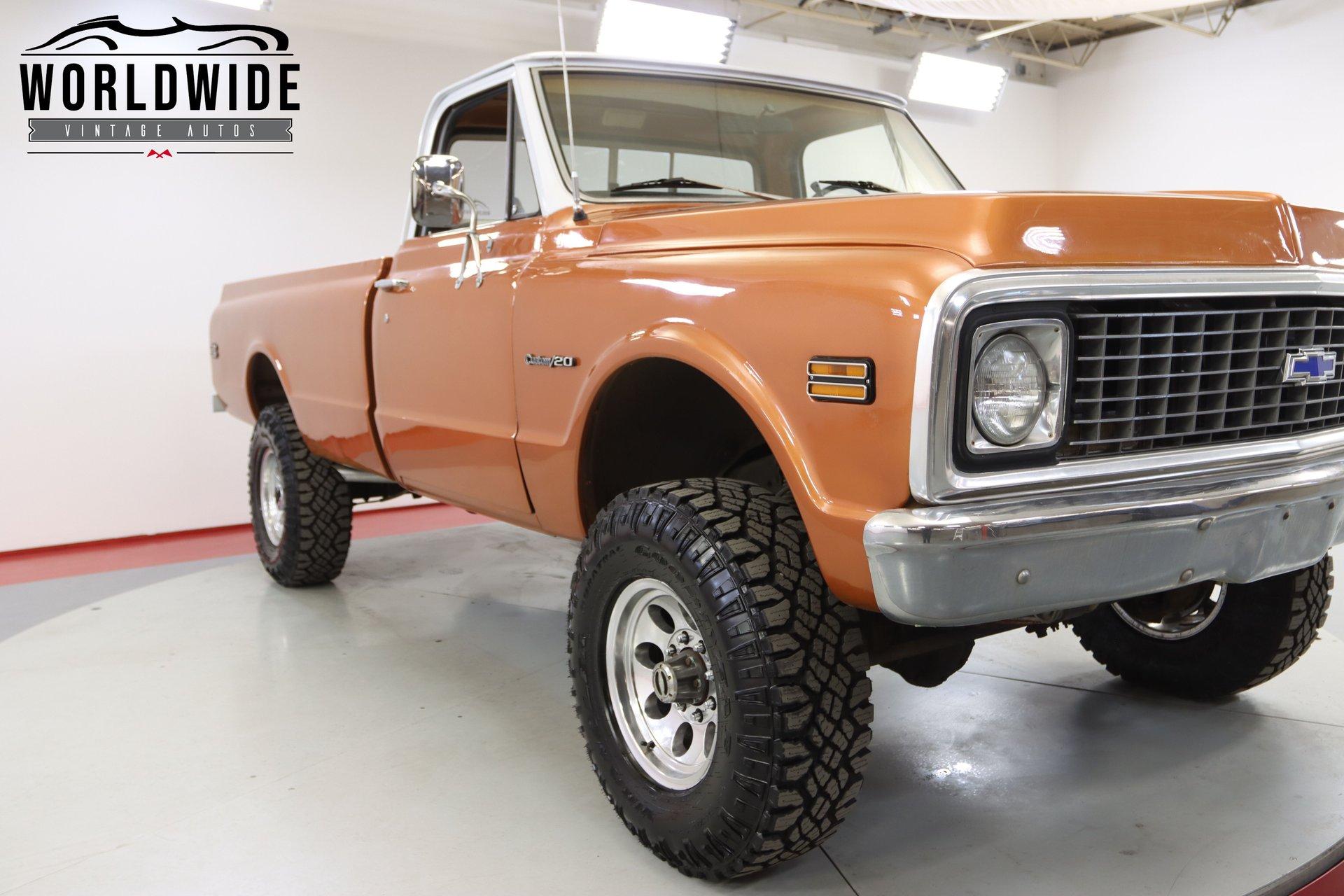 1972 Chevrolet K-2500