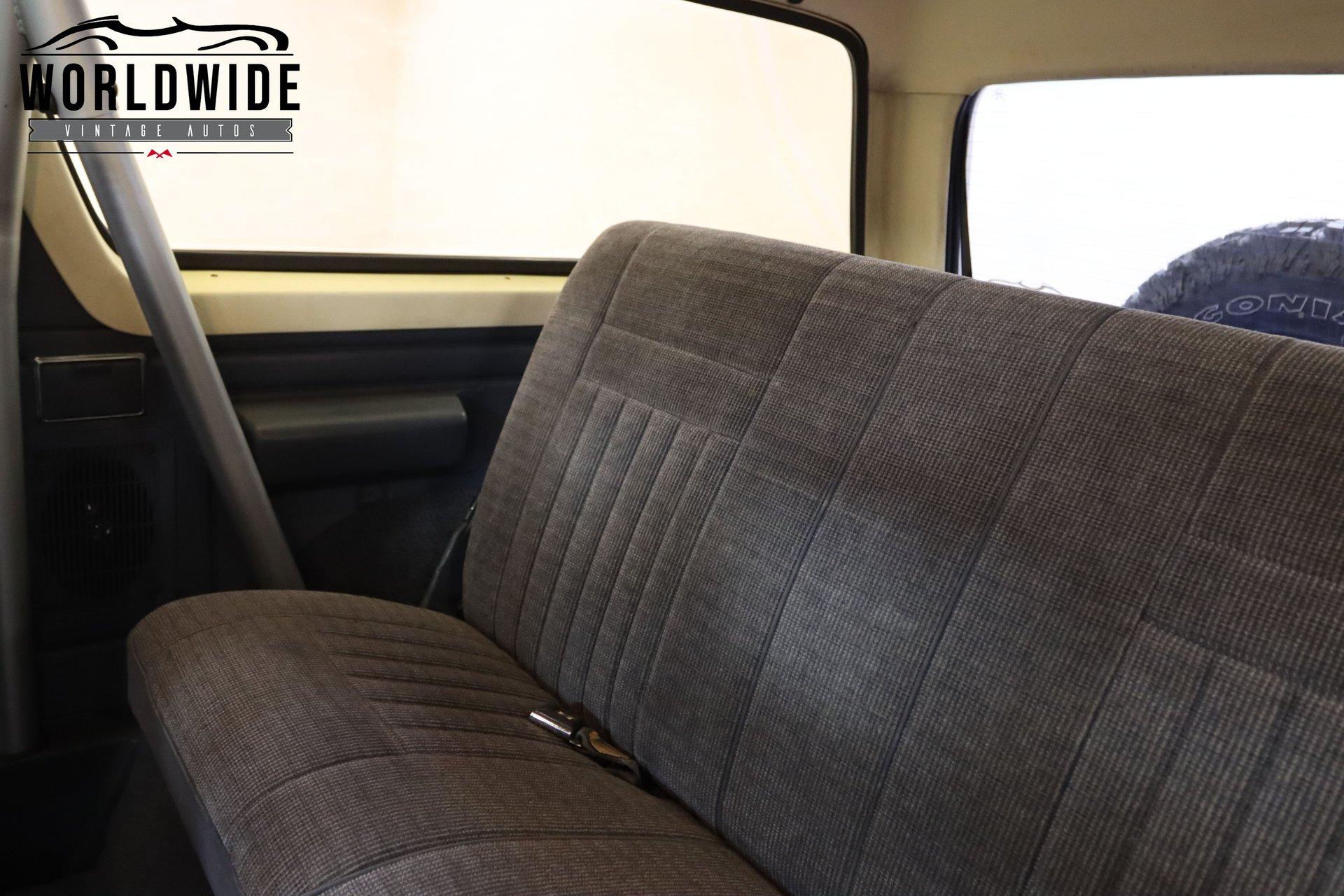 1989 Ford Bronco XLT