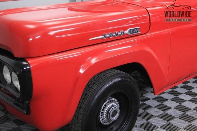 1960 Ford F100 Big Window Pickup