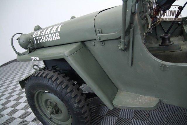 1952 Jeep M38 Military