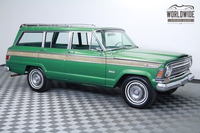 1973 jeep wagoneer collector truck time capsule