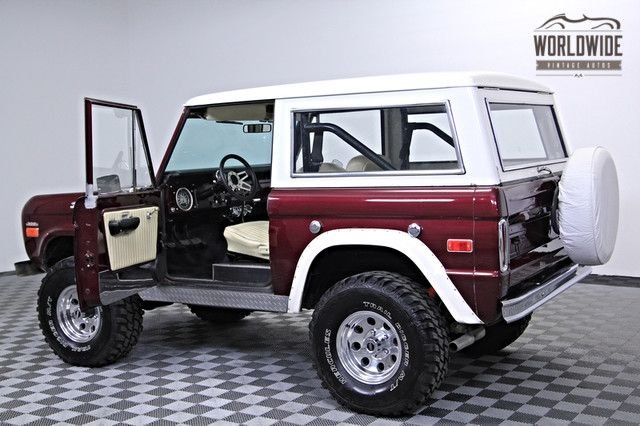 1970 Ford Bronco 4X4!