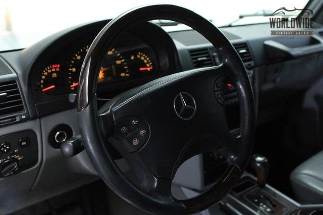 2002 Mercedes Benz G500