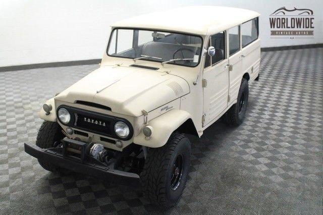 1966 Toyota Fj45Lv Rare