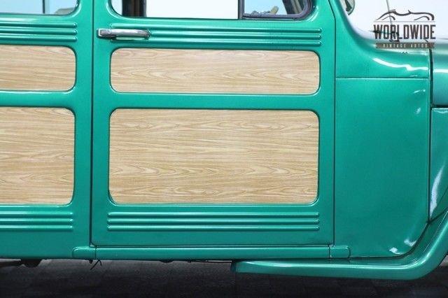1951 Willys Wagon Woody