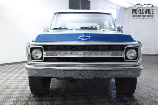 1970 Chevrolet Blazer Cst