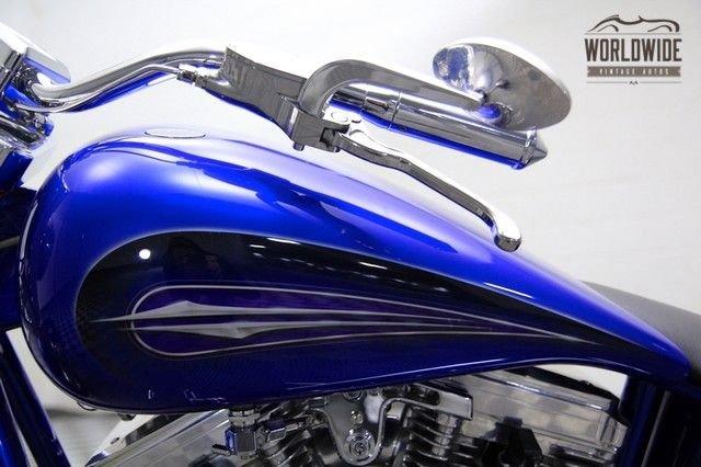 1996 Custom Built Billet Chopper! Magazine Bike With Air Ride!