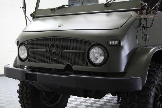1969 Mercedes Benz Unimog
