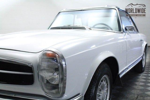 1968 Mercedes Benz 280Sl Roadster