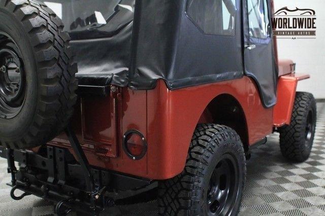 1952 Willys Jeep Cj2A