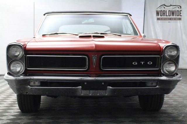 1965 Pontiac Gto Tribute Convertible