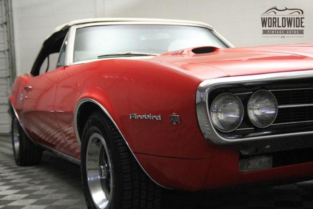 1967 Pontiac Firebird Convertible!