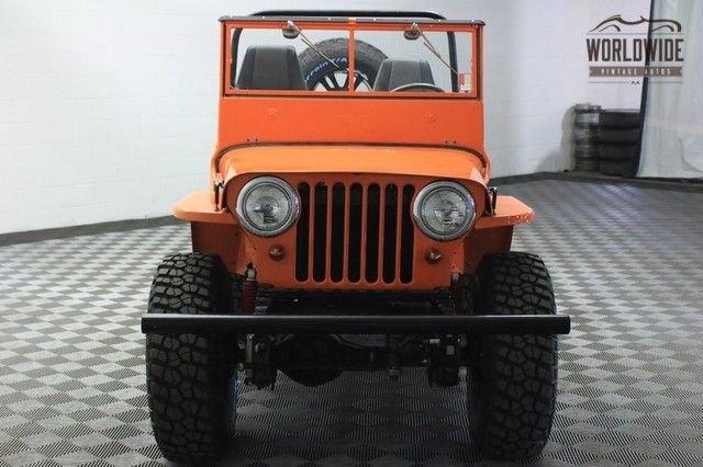 1947 Willy'S Cj3A