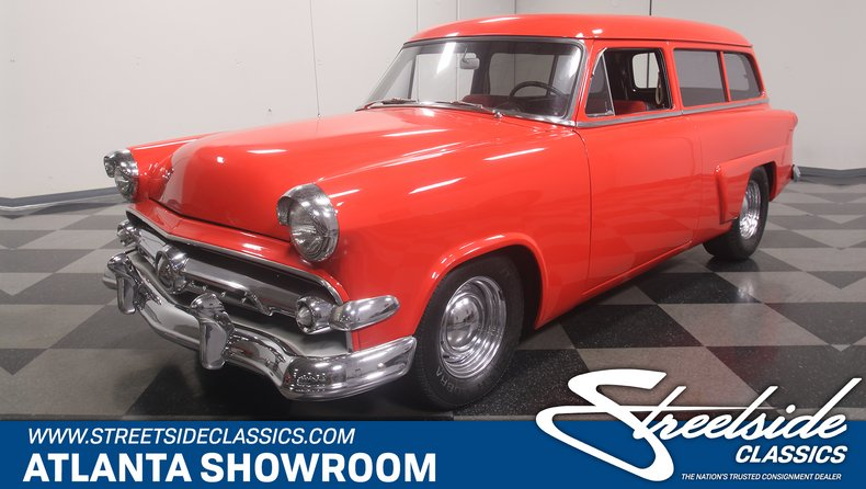 used 1954 Ford Ranch Wagon car, priced at $17,995