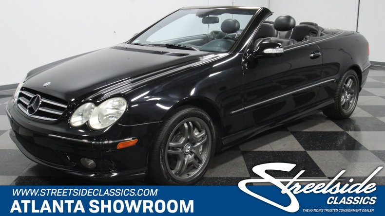 used 2004 Mercedes-Benz CLK55 AMG car, priced at $17,995