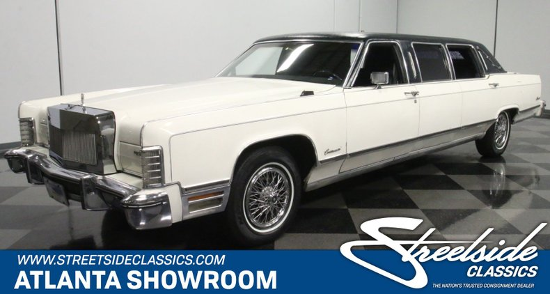 used 1975 Lincoln Continental car, priced at $12,995