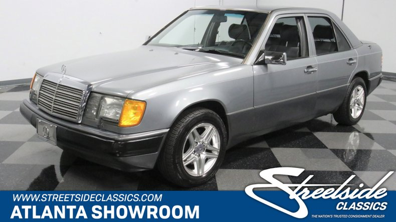 used 1990 Mercedes-Benz 300E car, priced at $8,995