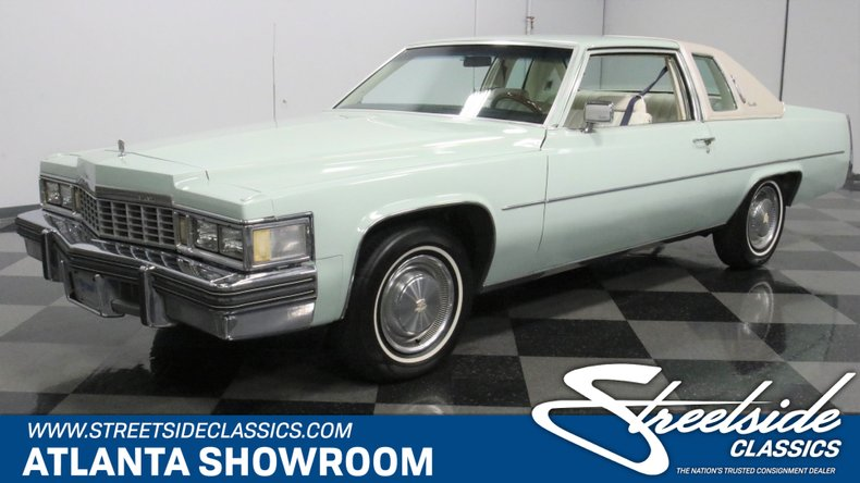 used 1977 Cadillac Coupe DeVille car, priced at $14,995