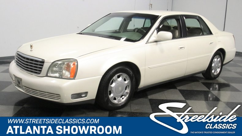used 2002 Cadillac DeVille car, priced at $12,995
