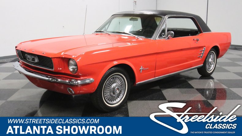 used 1966 Ford Mustang car, priced at $20,995
