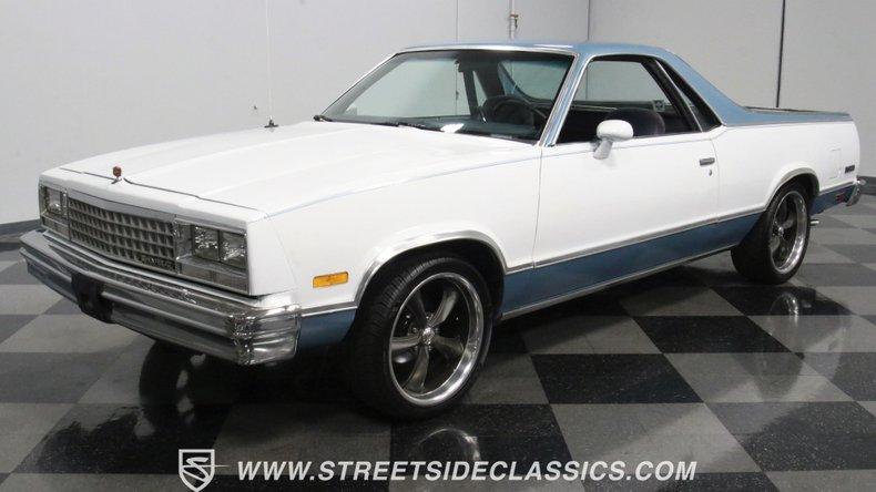 used 1984 Chevrolet El Camino car, priced at $18,995