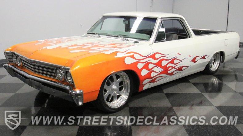 used 1967 Chevrolet El Camino car, priced at $20,995