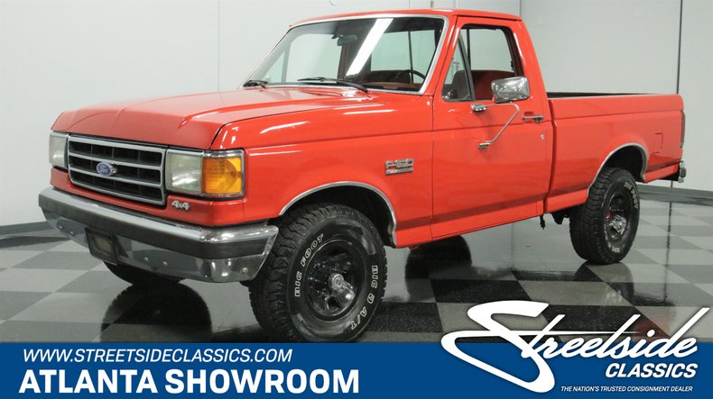 used 1990 Ford F-150 car, priced at $17,995