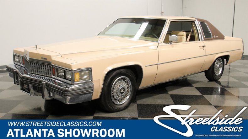 used 1978 Cadillac Coupe DeVille car, priced at $11,995